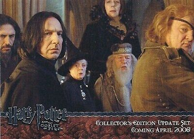 Promo 02 Silver Harry Potter Goblet of Fire Update GOFU Rickman Severus Snape