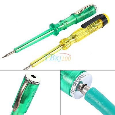 Car Circuit Tester DC 6V 12V 24V Auto Vehicle Gauge Test Light Steel Probe