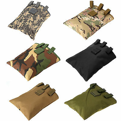 Military Waterproof Molle Carrying Bag Nylon Army Style Recycle Collection Pouch