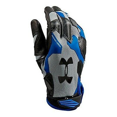 Under Armour Men's Renegade Glove, Steel/Royal/Black, Small