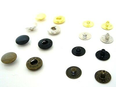 Poppers Snap fastener Press stud Sewing Leather craft  - 10mm. cap  No.206/B85