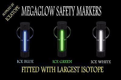 GENUINE FIREFLY MEGAGLOW SAFETY MARKER KEYRING ISOTOPE TRITIUM ICEATOPE Fishing