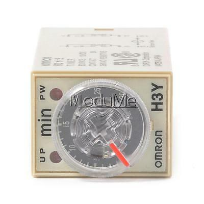 New DC 24V 8P Terminals DPDT 3 Seconds 3S Delay Timer Time Relay H3Y-2 MO