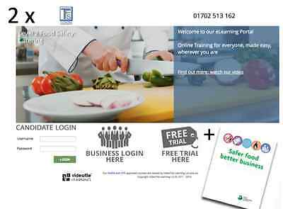 Safer Food Better Business for Caterers (SFBB) & L2 Food Safety Training course