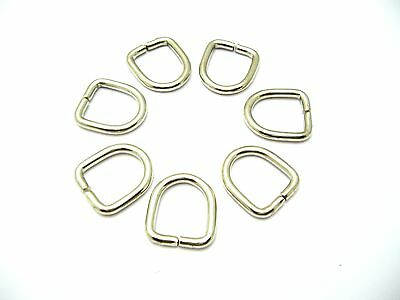 D rings buckles for webbing 11 mm.Nickel Plated Steel unwelded No.8196/B86