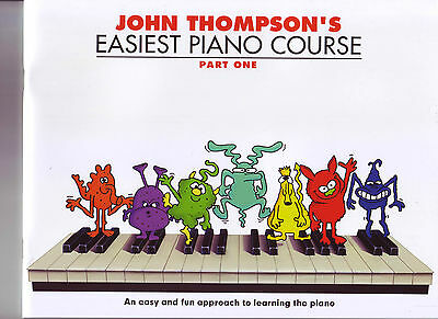 John Thompson's Easiest Piano Course - Part 1 / One -book only **New    WM000176
