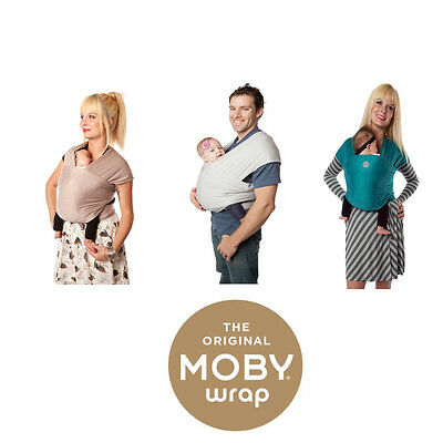 BNIB Genuine Bamboo Moby Wraps - Authorised UK Retailer - Baby Wrap