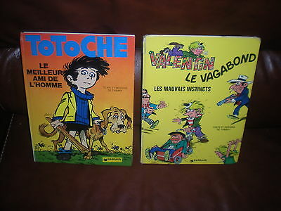 Lot 2 Bd Tabary - Totoche + Valentin Le Vagabond - Editions 1974