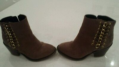 River island Girls Ankle Boots infant 10