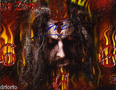 REPRINT - ROB ZOMBIE 1 autographed signed photo