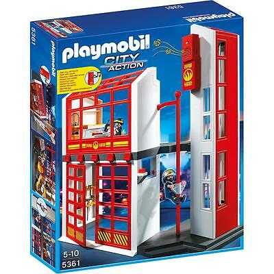 PLAYMOBIL® CITY ACTION Feuerwehrstation mit Alarm 5361