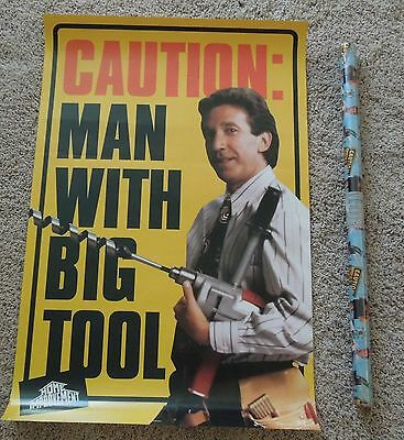 ABC Disney Home Improvement Show 90's Tool Time Time Allen Poster Gift Wrap