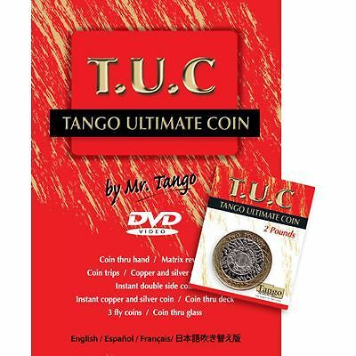 Coin / Money Magic trick | Tango Ultimate Coin (T.U.C.)(P0001)2 Pounds by Tango