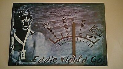 *eddie Would Go* Surf Conditions Gauge Actually Adjusts! 8X12 Metal Sign Aikau