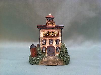 Americana Collection Liberty Falls Fire Station 1992
