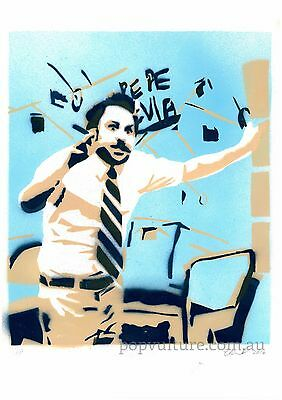 Its Always Sunny in Philadelphia Limited Edition a3 spray paint art print poster