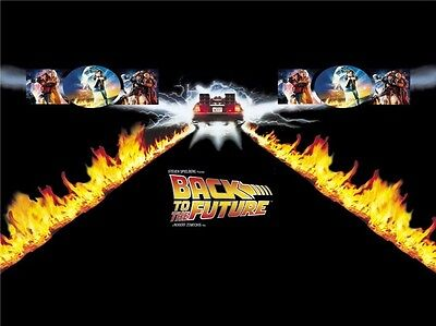 "Back To The Future 1 2 3 Hot Movie Art Wall Poster 57/""x24/"" 013"