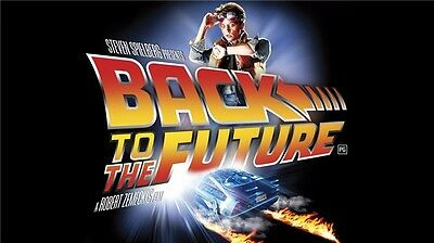 "Back To The Future 1 2 3 Hot Movie Art Wall Poster 24""x13"" 009"