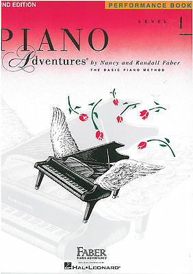 Piano Adventures - Performance Book - Level 1 - Faber - FF1080