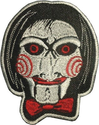 Saw Billy The Puppet Patch Embroidered Badge Horror Movie Jigsaw Kramer Series