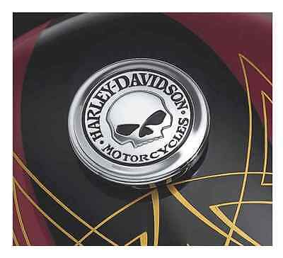 Harley-Davidson Willie G Skull Fuel Cap Medallion 99669-04