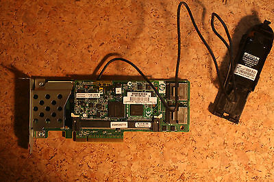 HP P410 low profile 1GB Raid Controller SmartArray FBWC SuperCap 572532-B21 PCIe