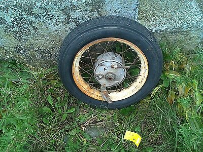 Rear Wheel with Drive Assembly, brake and Tire
