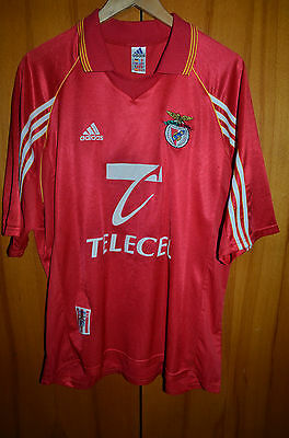 Benfica Portugal 1998/1999 Home Football Shirt Jersey Camiseta Adidas