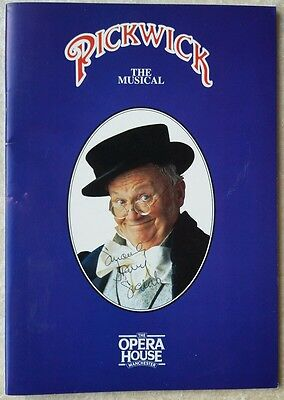 Pickwick the musical opera house Manchester theatre programme signed