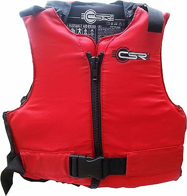 crewsaver X large Buoyancy Aid. Ideal for Jet Ski, Windsurf, Water RED 70-90 kg