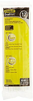 Stanley Gs25Dt 10 Inch Dual Temp Glue Sticks, Pack of 12