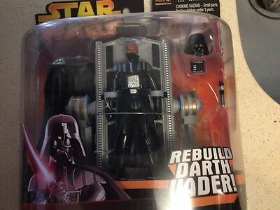 "Star Wars Hasbro-Kenner Action Figure 3 3/4"" Darth Vader Rebuild Darth Vader"