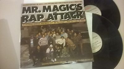 "LP VA Mr.Magic's Rap Attack 2 x 12"" (12 Song) PROFILE / USA"