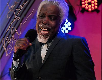 BILLY OCEAN SIGNED 10x8 PHOTO - Love Zone