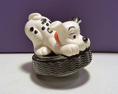 McDonalds Happy Meal Toys 101 Dalmatians DALMATIONS #50 DOG on tire