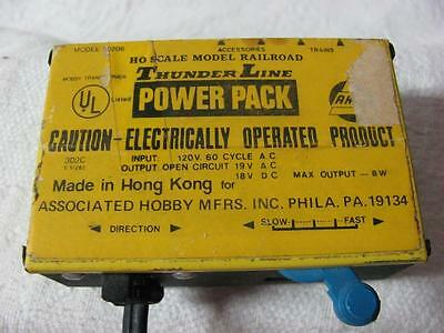 HO Scale Trains - AHM Thunder Line Power Pack 70206 Speed Controller
