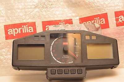 Aprilia RSV 1000 Tuono GENUINE NEW! Dashboard Clocks Speedometer Tach AP8124990