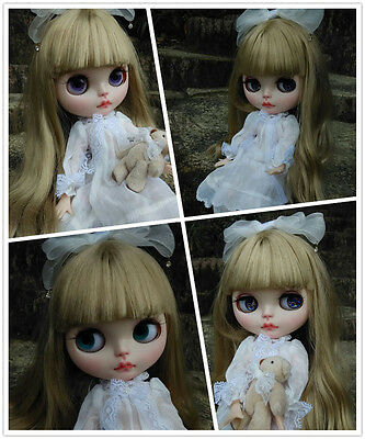 """12""""/30cm Takara Nude Blythe Doll With Matte Face+Margo Hair From Factory"""