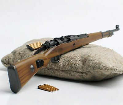 """1/6 Scale WWII German 98k Mauser Rifle Gun Weapon Model For 12"""" Action Figure"""