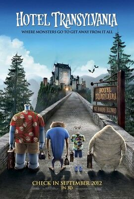 HOTEL TRANSYLVANIA MOVIE POSTER 2 Sided ORIGINAL Advance 27x40 ADAM SANDLER