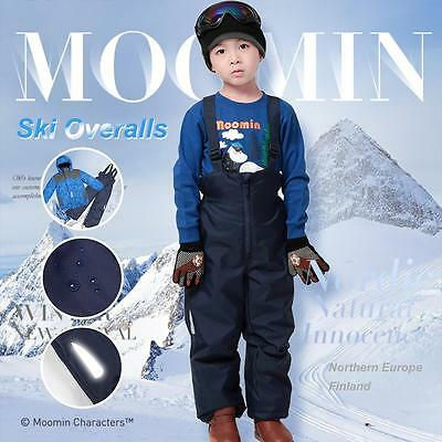 Boys ski overalls pants trousers snow suit overall winter the moomins characters