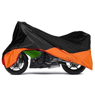 XXXL Rain Motorcycle Outdoor Cover Fit Motorcycle Touring Bagger Cruiser Chopper