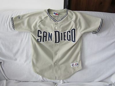 Mlb San Diego Padres Majestic Jersey Kids Size Med/12 #3 Greene