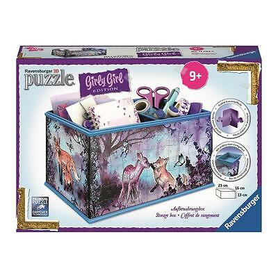 Ravensburger 3D-Puzzle Girly Girl Aufbewahrungsbox Animal Trend | Puzzle ab 9