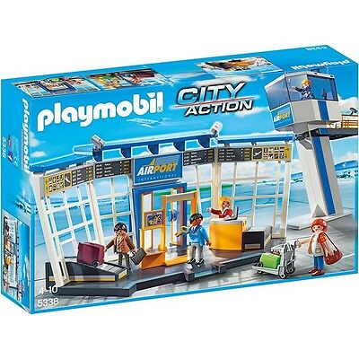 Playmobil® City Action City-Flughafen mit Tower 5338