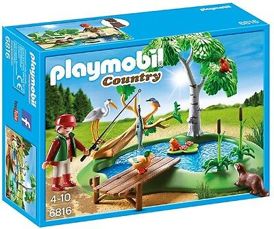 Playmobil® Country Angelteich 6816