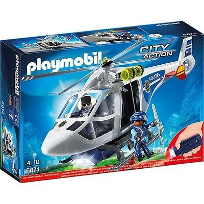 Playmobil® City Action Polizei-Helikopter 6874