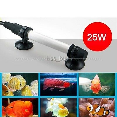 ac 220v 50W Submersible Aquarium Fish Tank Water Thermostat Heater Temperature