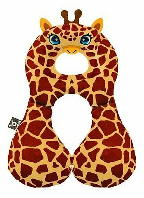 Kids Childs Childrens Soft Neck Cushion Travel Pillow Head Support  Giraffe 1-4