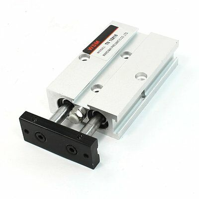 Dual Action 10mm Bore 15mm Stroke Double Rod Pneumatic Air Cylinder